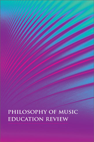 Philosophy of Music Education Review cover image