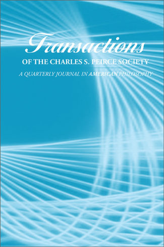 Transactions of the Charles S. Peirce Society cover image