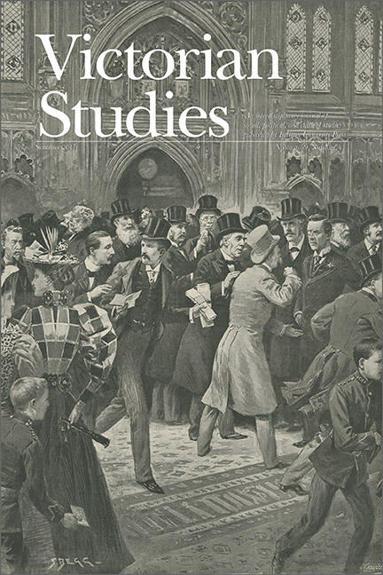 Victorian Studies cover image