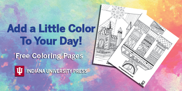 Add a little color to your day! Free coloring pages!