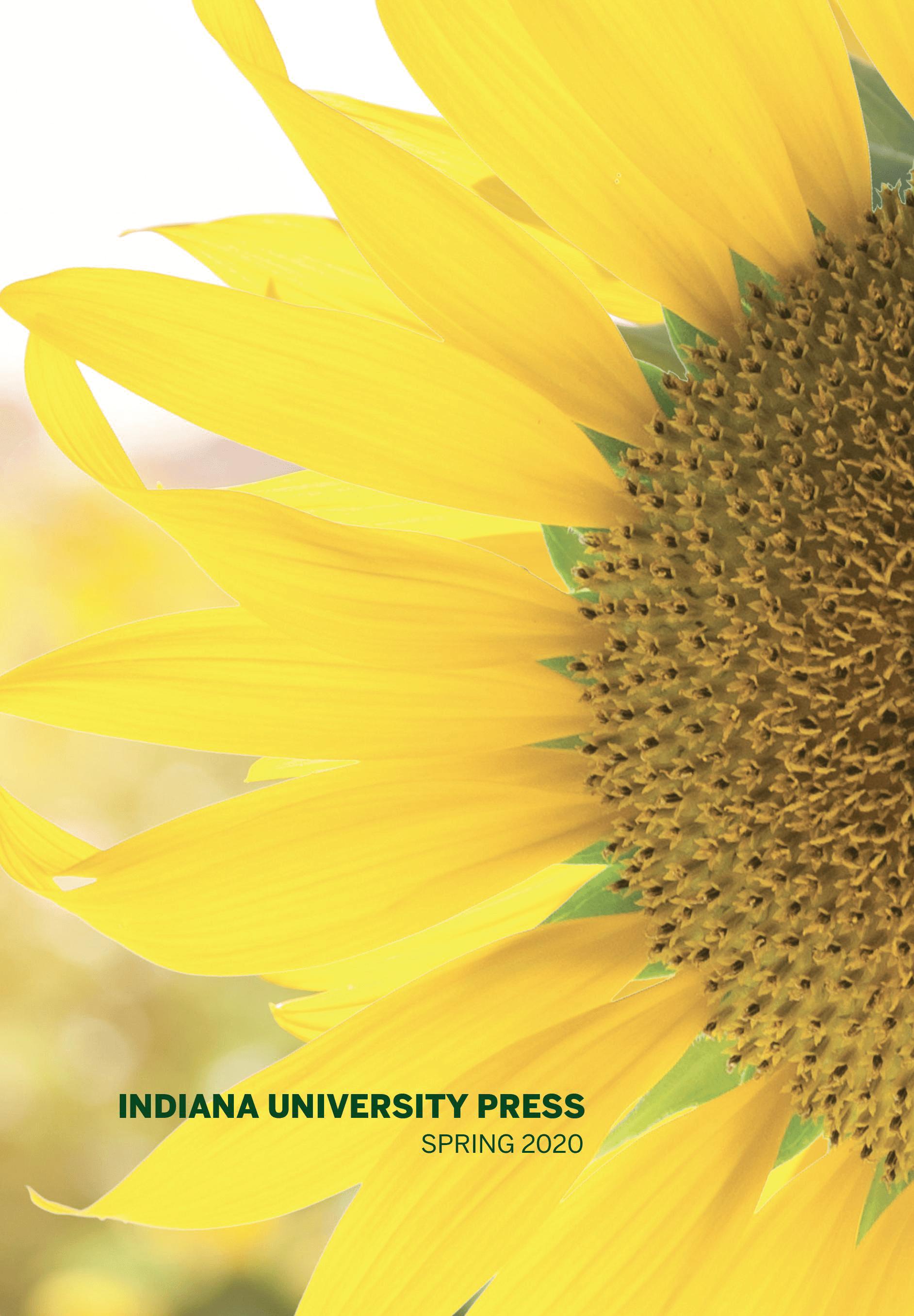 Indiana University Press Spring 2020 Catalog
