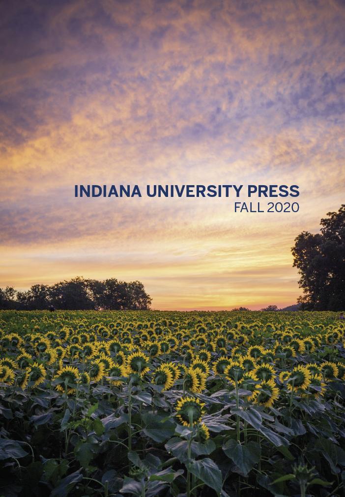 Indiana University Press Fall 2020 Catalog