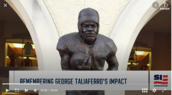 Sport Illustrated features Dawn Knight's Race and Football in America: The Life and Legacy of George Taliaferro