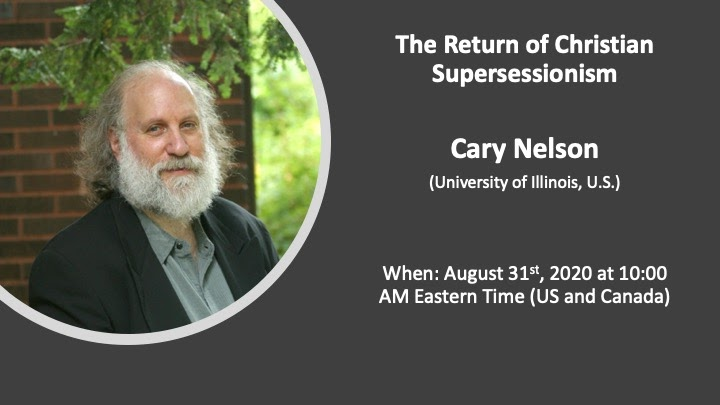 Cary Nelson: The Return of Christian Supersessionism