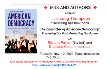 The Character of American Democracy – Midland Authors Event
