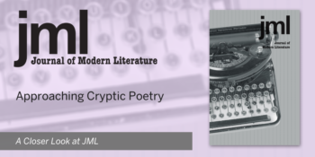 Approaching Cryptic Poetry: A Closer Look at JML 43.4
