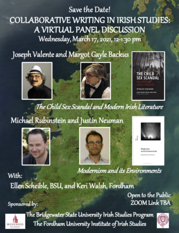 Collaborative Writing In Irish Studies: A Virtual Panel Discussion