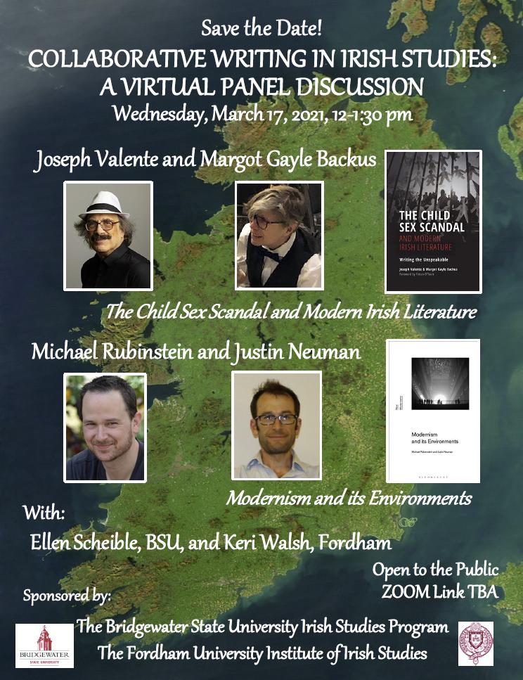 Collaborative Writing In Irish Studies: A Virtual Panel Discussion