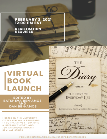 Launching of the book The Diary: The Epic of Everyday Life