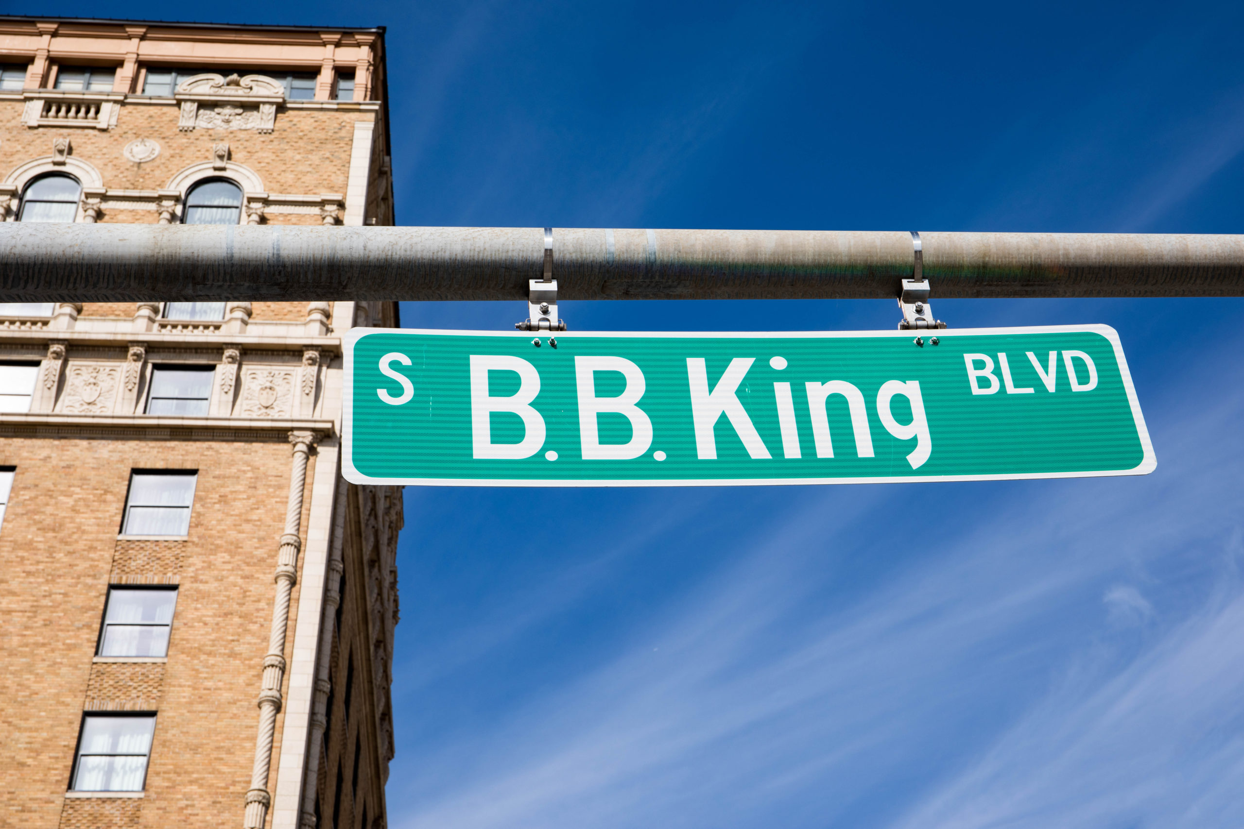 BB King sign
