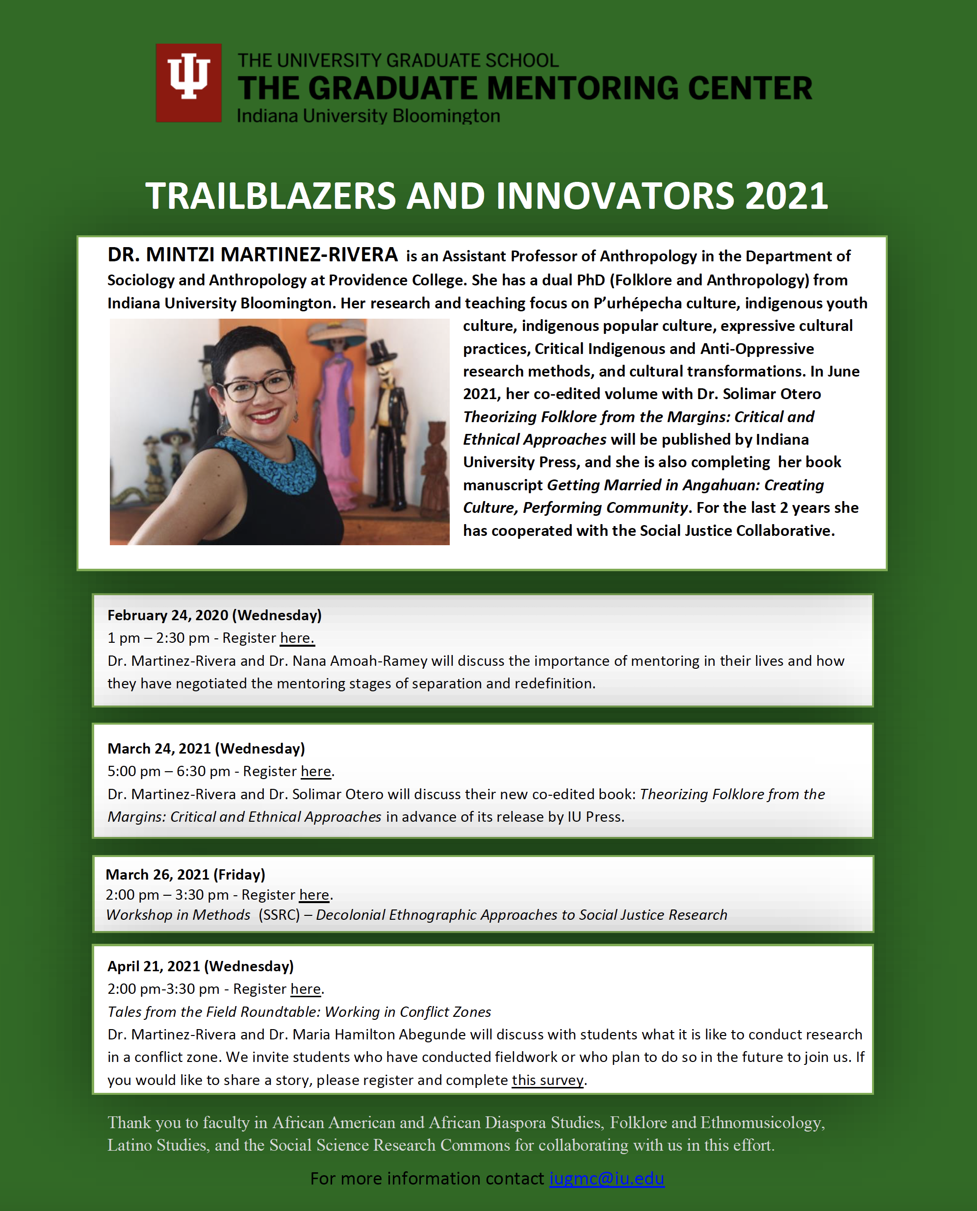 TRAILBLAZERS AND INNOVATORS 2021