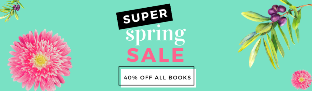 Save 40% on ALL books online