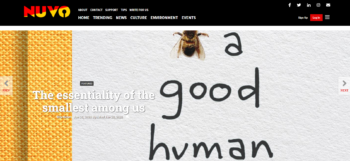 Bee a Good Human featured in NUVO