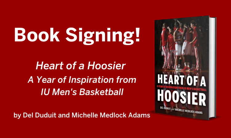 Heart of a Hoosier Book Signing