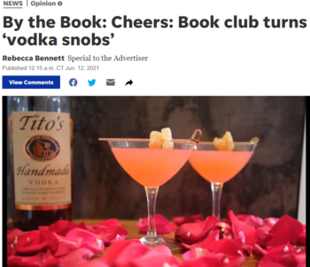 How to be a Vodka Snob featured in Austin American Statements