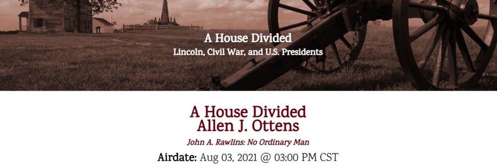 A House Divided event banner