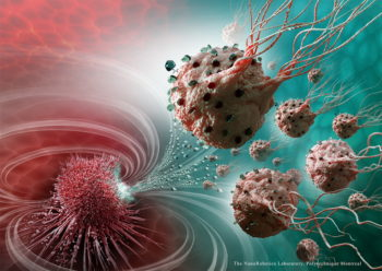 Magnetic Microbots to Fight Cancer
