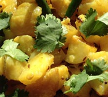 Your Everyday Potato Sabzi (Sautéed Spiced Potatoes) with Sonali Dev