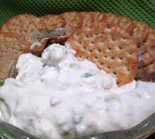 Simple Clam Dip with M.Q. Barber
