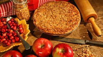 Val's Apple Cranberry Pie by Kirsten Weiss