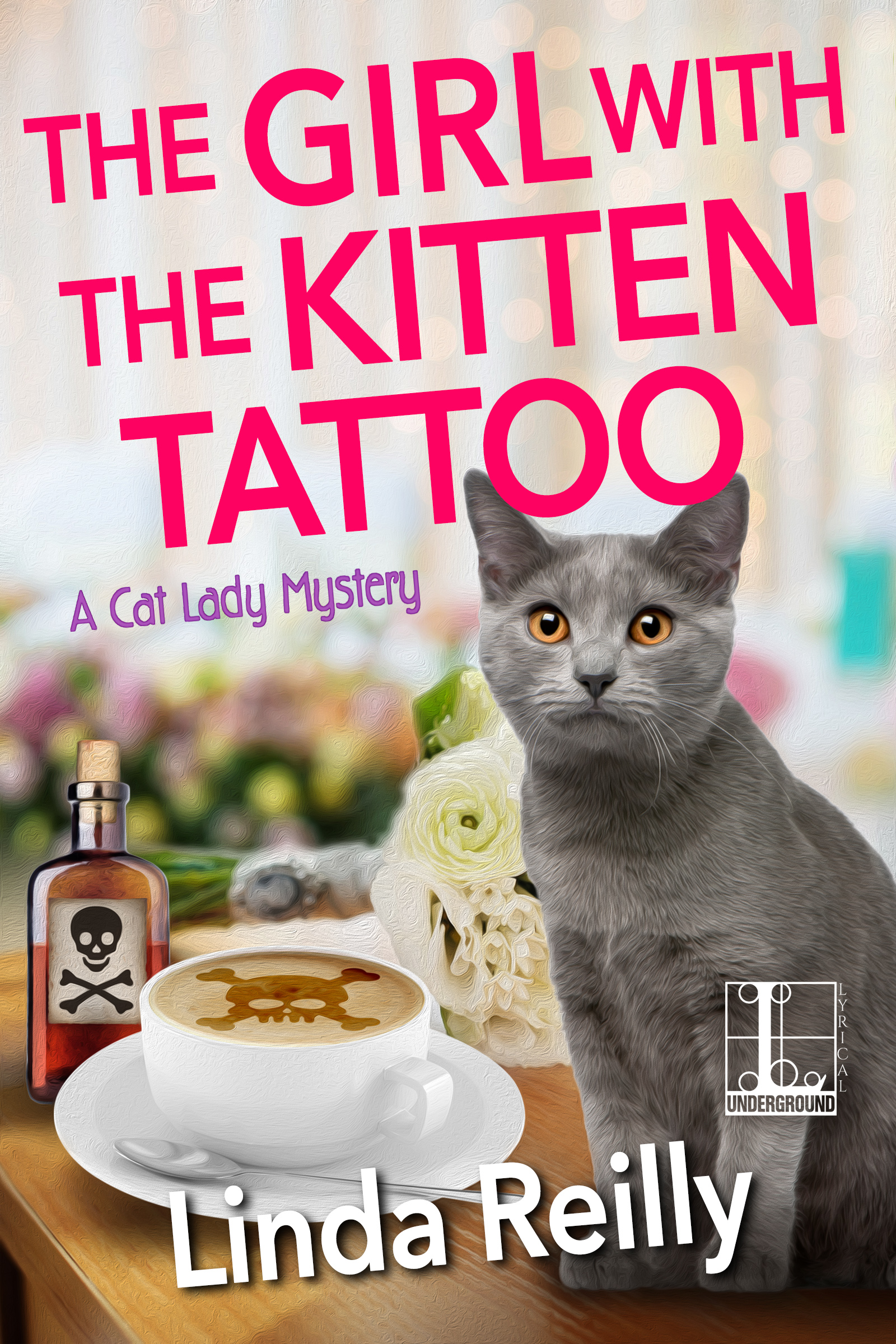 The Girl with the Kitten Tattoo by Linda Reilly