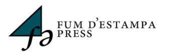 New partnership with Fum d'Estampa Press