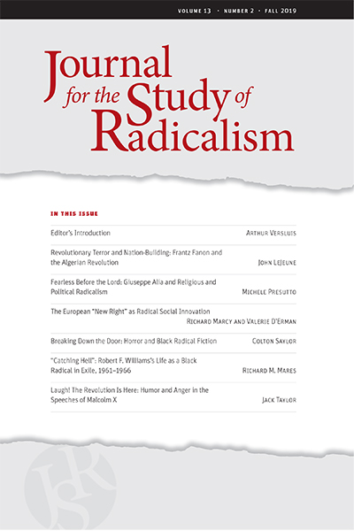 Journal for the Study of Radicalism