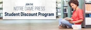 Notre Dame Press Launches Student Discount Program