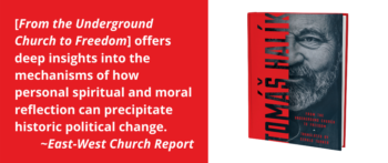 "An Interview with Tomáš Halík, author of ""From the Underground Church to Freedom"""