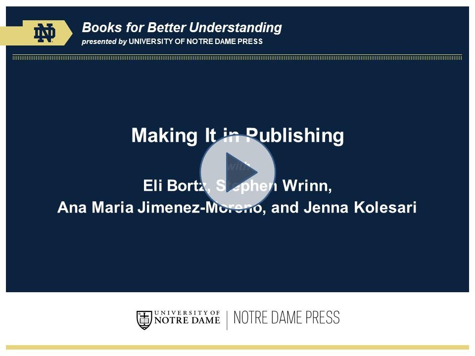 Zoom presentation publishing talk play button