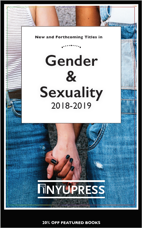 Gender and Sexuality subject series catalog cover for 2018-2019