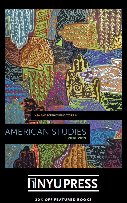 American Studies Subject Catalog front cover 2018-2019