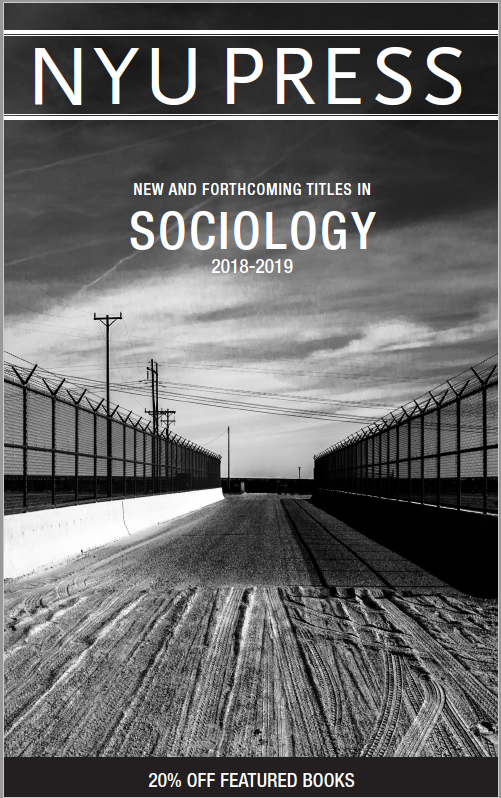 Sociology subject catalog front cover 2018-2019
