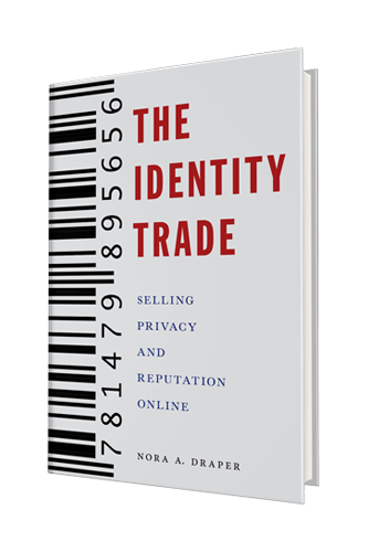 The Identity Trade front cover by Nora Draper