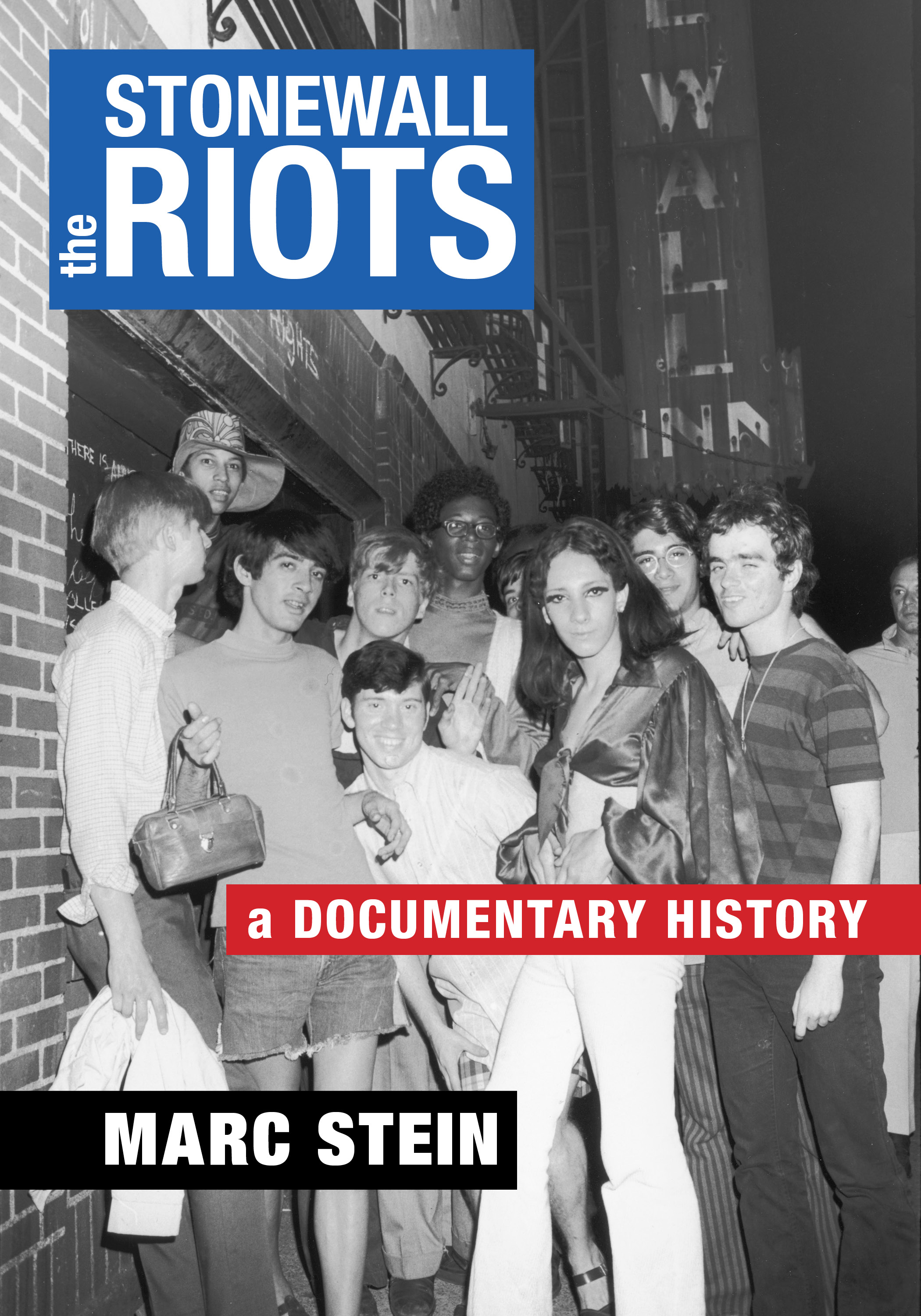front cover of The Stonewall Riots