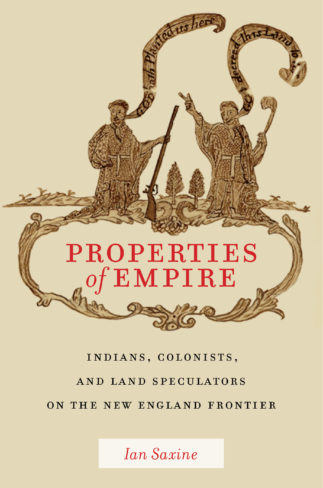 Ian Saxine, author of Properties of Empire