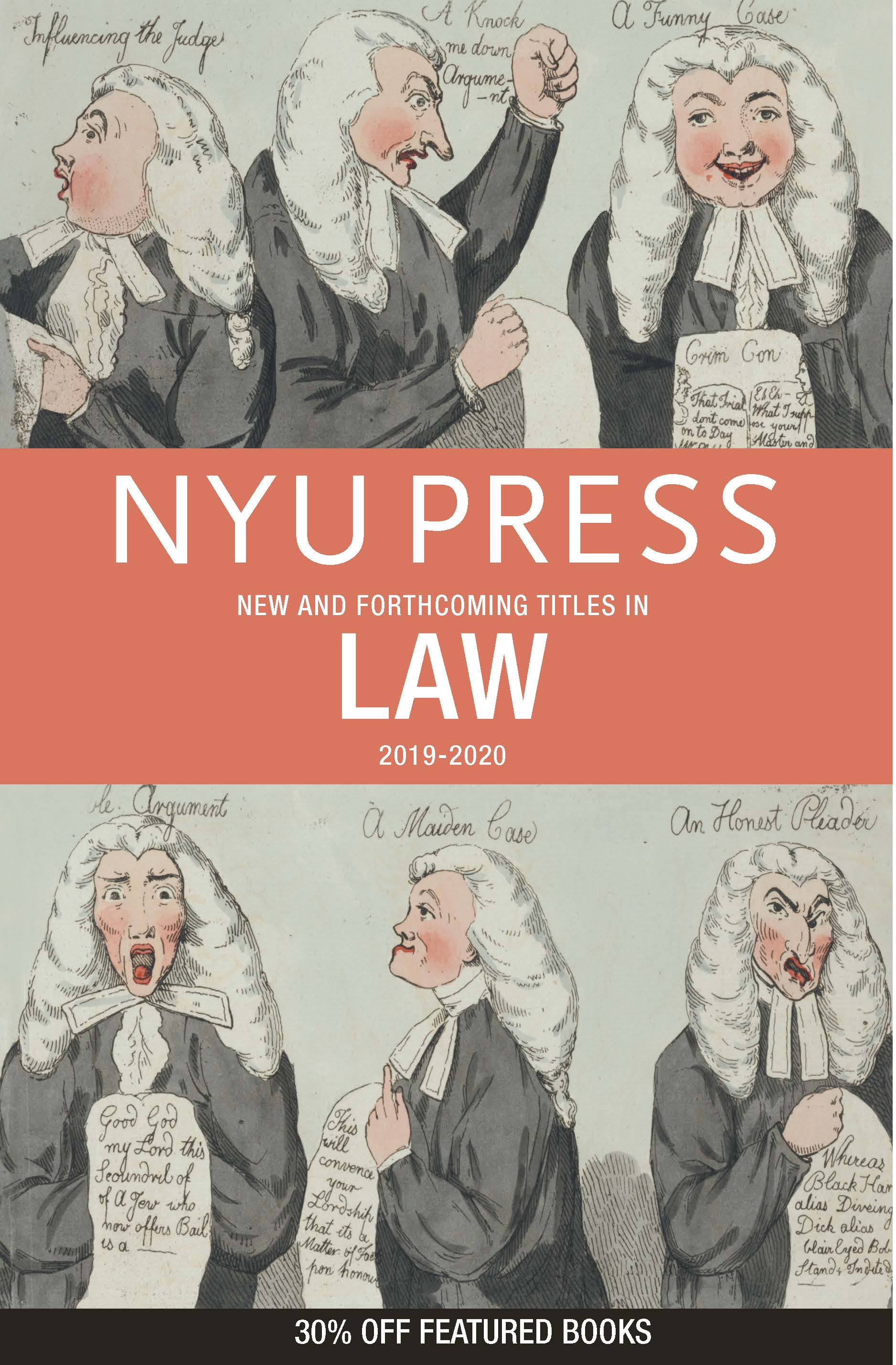 Law 2019-2020 subject catalog cover