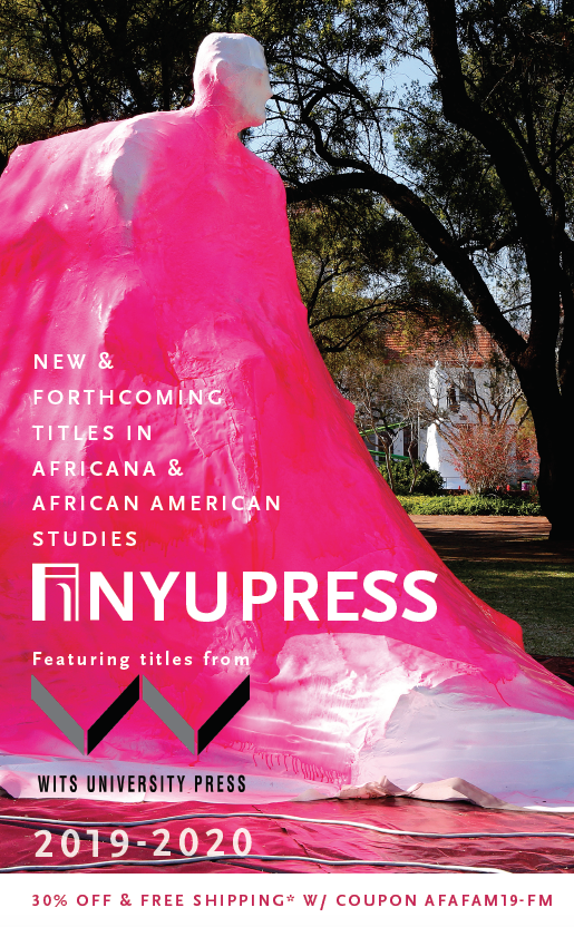 Cover of Africana and African American Studies subject catalog 2019