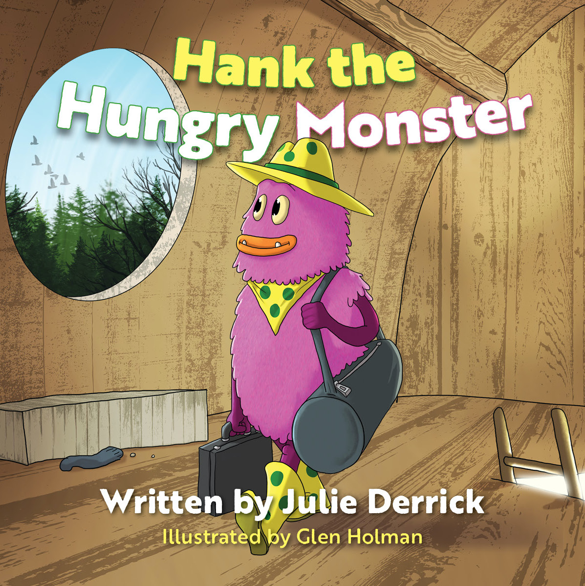Hank The Hungry Monster Cover
