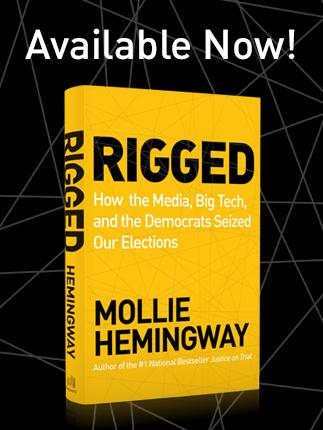 rigged book, rigged mollie hemingway