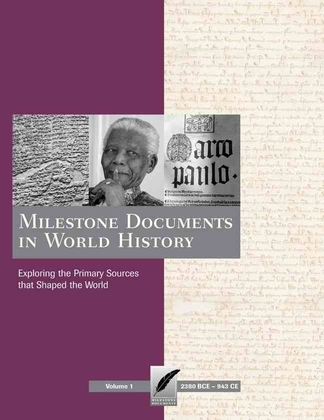 Milestone Documents in World History now available directly from Schlager Group