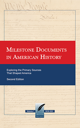 Milestone Documents in American History, 2nd Edition