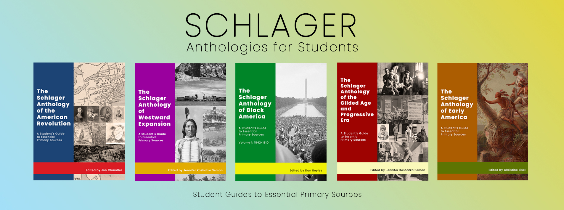 Schlager Anthologies for Students