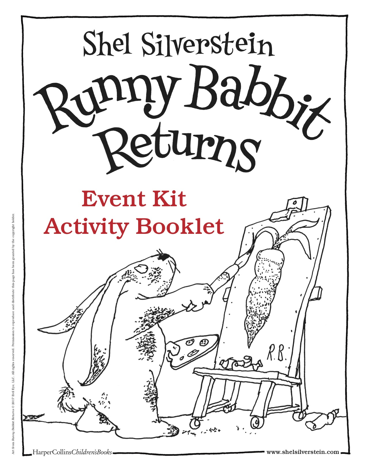 This is a picture of the book cover of Runny Babbit Returns.