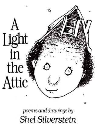 This is a picture of the cover of the book A Light in the Attic.