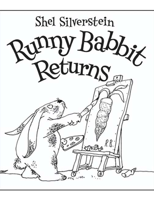 This is a picture of the cover of Runny Babbit Returns.