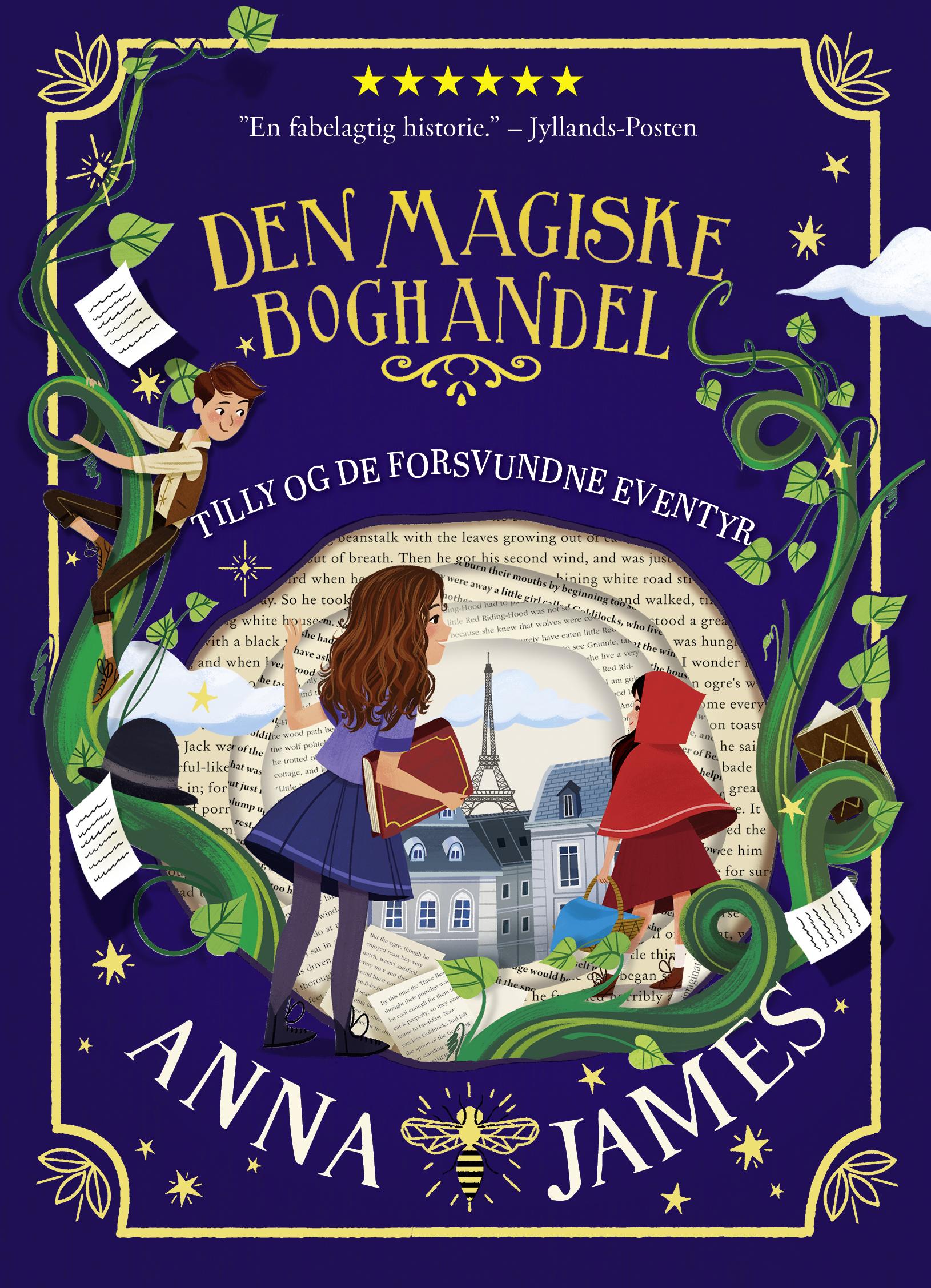 TILLY OG DE FORSVUNDNE EVENTYR af Anna James