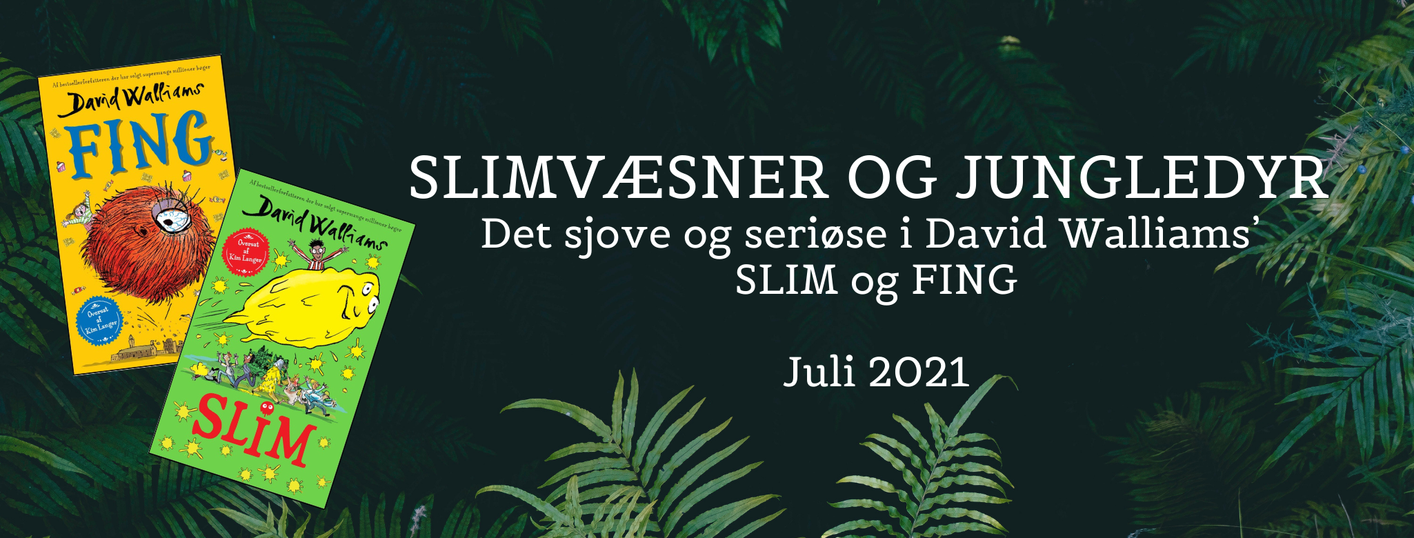Slim og Fing banner