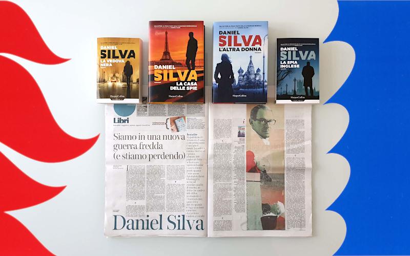 """Daniel Silva intervistato su """"la Lettura"""""""
