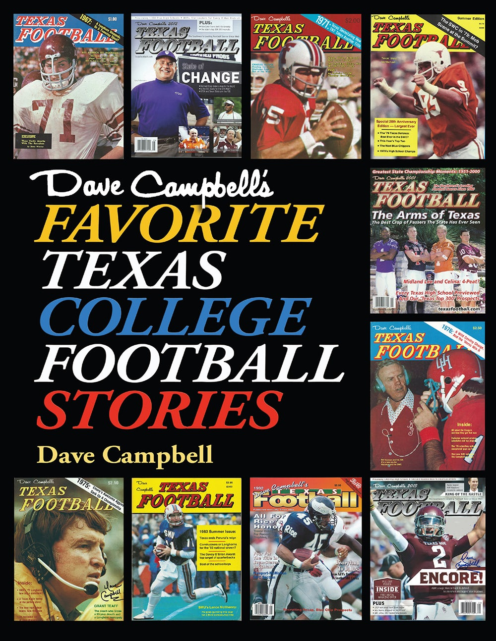 54e764e97da Dave Campbell's Favorite Texas College Football Stories